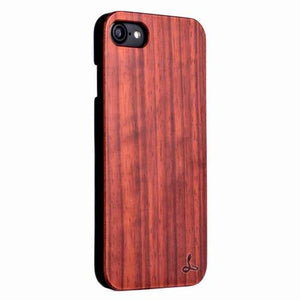 Rosewood Wood Back Case - Apple iPhone 8 - Snakehive