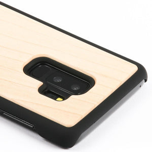 Maple Wood Back Case - Samsung Galaxy S9 Plus - Snakehive