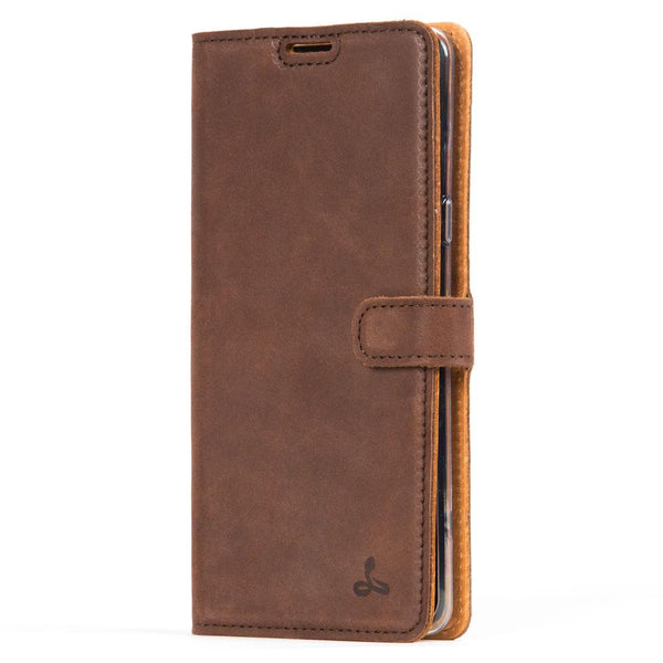 Vintage Leather Wallet - Samsung Galaxy S10