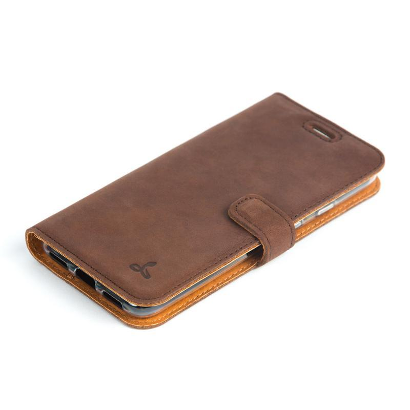 Vintage Leather Wallet - Google Pixel 4