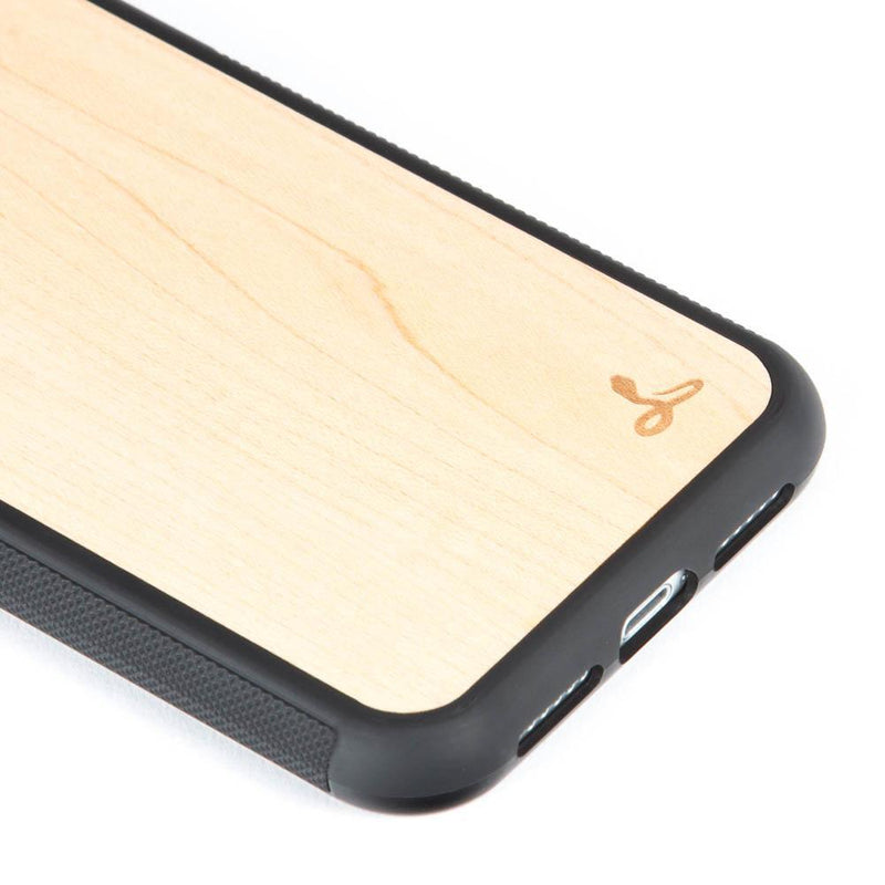 Maple Wood Back Case - Apple iPhone XR