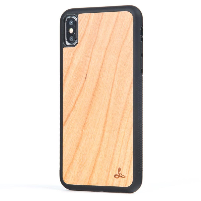 Cherry Wood Back Case - Apple iPhone XS Max