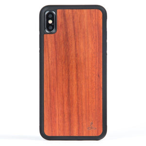 Rosewood Wood Back Case - Apple iPhone XS Max