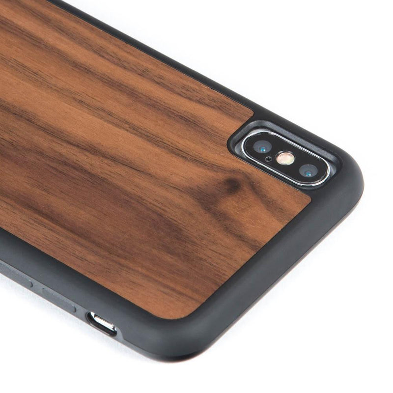 Walnut Wood Back Case - Apple iPhone XS Max