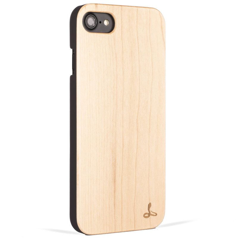 Maple Wood Back Case - Apple iPhone 8 - Snakehive