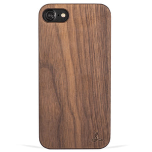 Walnut Wood Back Case - Apple iPhone 7 - Snakehive