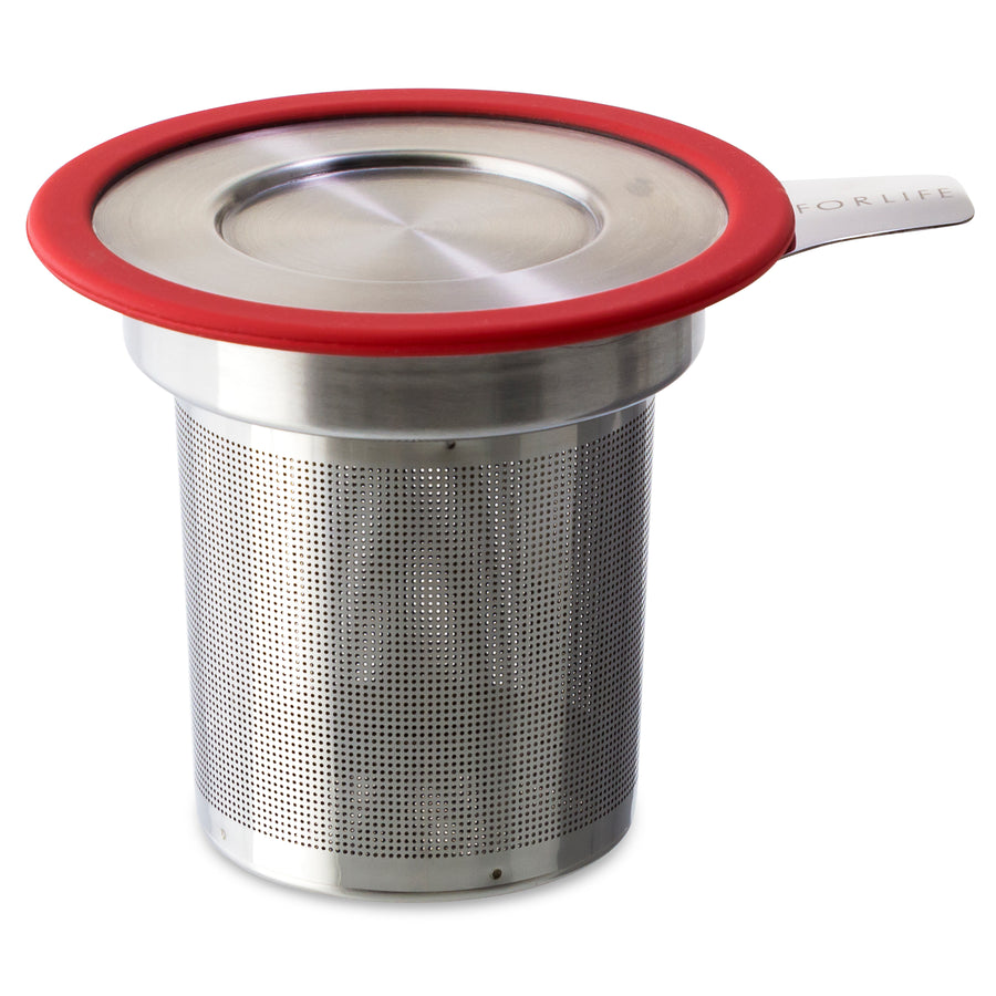 Tea Infuser w/ Lid - Tea Mansion