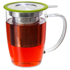 Glass Tall Mug - Tea Mansion