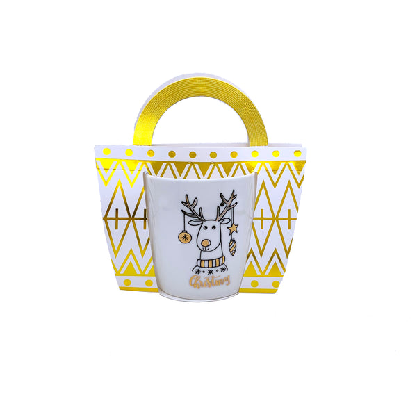 Dasher Reindeer Tea Mug
