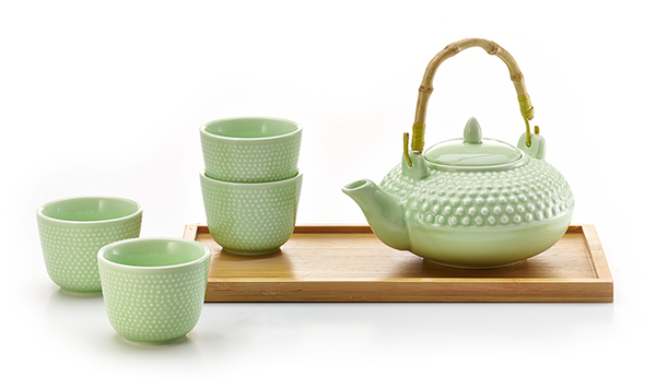 Hobnail Tea Set - Tea Mansion