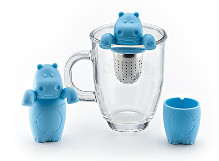 Hippo Tea Infuser - Tea Mansion
