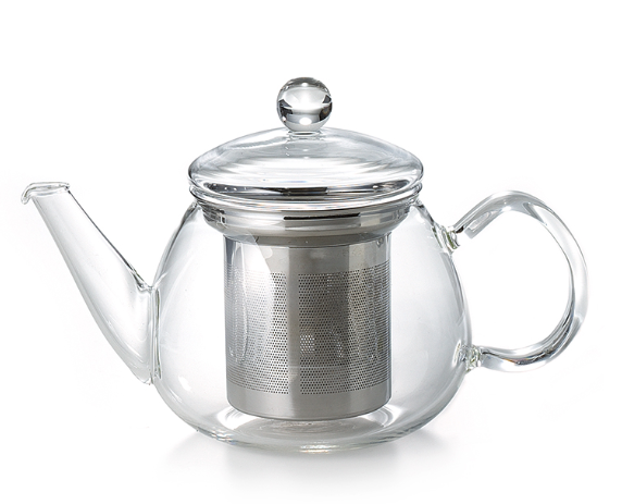 European Glass Teapot - Tea Mansion