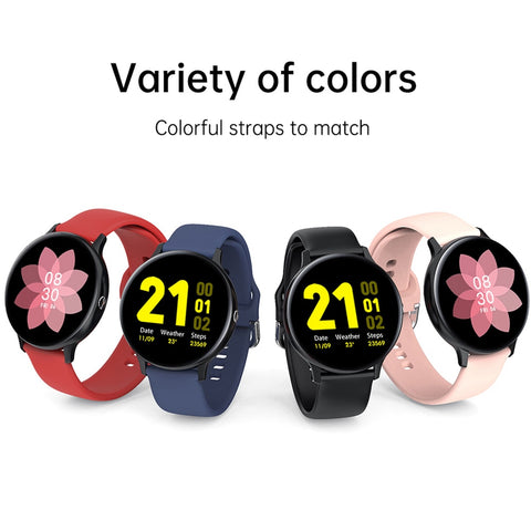Smart Watch Men Bluetooth Call Play Music Fitness Bracelet Smartwatch Women IP68 Full Touch Sport Digital Watch For Android IOS