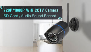 1080P 2MP Wireless IP Camera IR Night Vision Audio Record P2P Onvif Video Security Wifi Camera