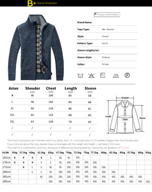 FGKKS Men's Casual Sweater Coats Winter Fashion Brand Mens Cardigan High Collar