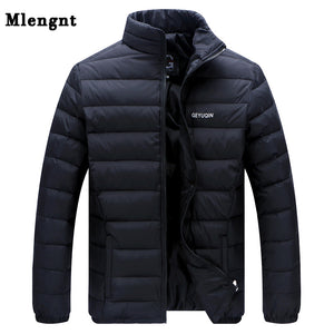 Big Size White Duck Down Men's Winter Jacket Ultralight Down Jacket Casual Outerwear
