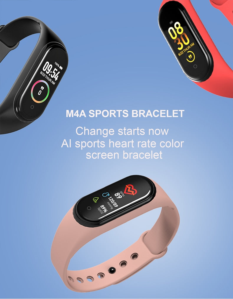 New M4 Smart Band Wristband Watch