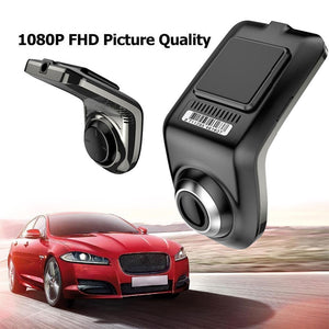 Full HD 1080P Min Car DVR Camera U3 ADAS Auto Digital Video Recorder Dash Cam for Android Multimedia