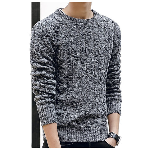 New Mens Sweaters O Neck  Long Sleeve