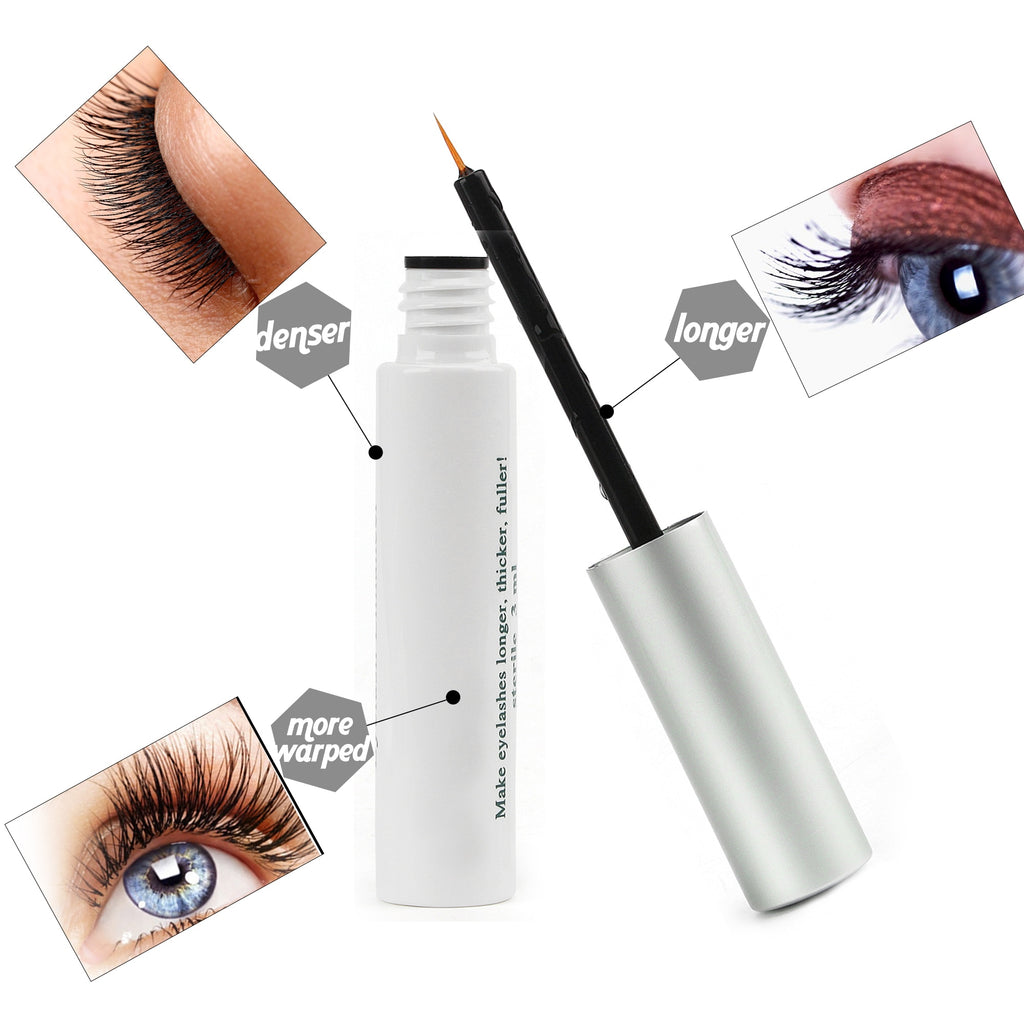 US Stock Eyebrows Growth Serum Eyebrow Beauty Enhancer Eye Lash liquid Treatment Longer Thicker Blacker Eyelash Extension
