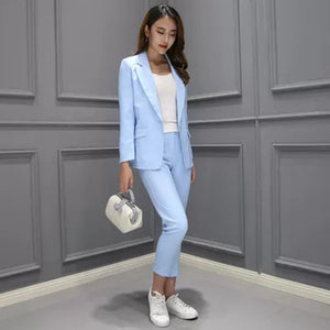2 piece set women Suit female The new career suit female