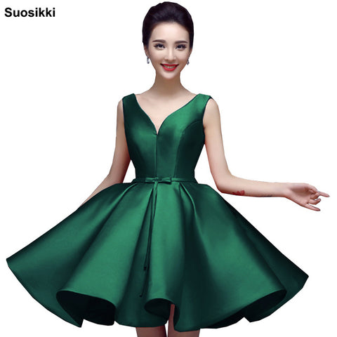 Image of Suosikki Sexy Short Cocktail Dresses
