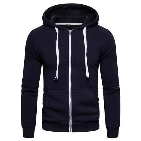 Image of New Autumn Winter Cotton Hoodied Mens Sweatshirts