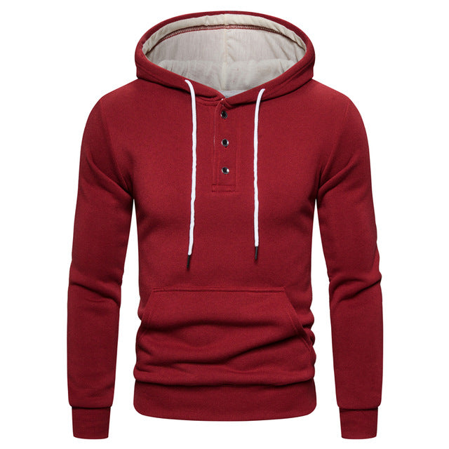 New Autumn Winter Cotton Hoodied Mens Sweatshirts