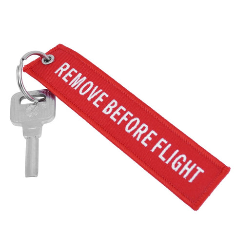 Doreen Box Remove Before Flight Fashion Tags Keychain