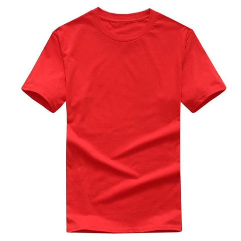 Solid Color T Shirt Cotton T-shirts