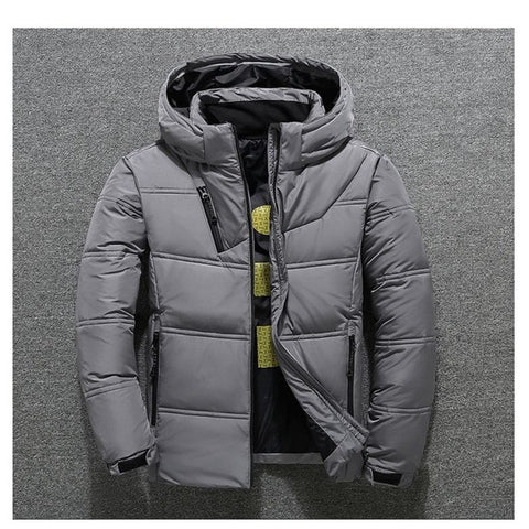 Image of Winter Jacket Mens Quality Thermal Thick Coat Parka