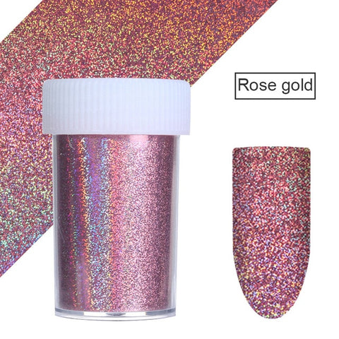 Image of 7 Colors  Nail Foils Nail Transfer Sticker  4*20cm