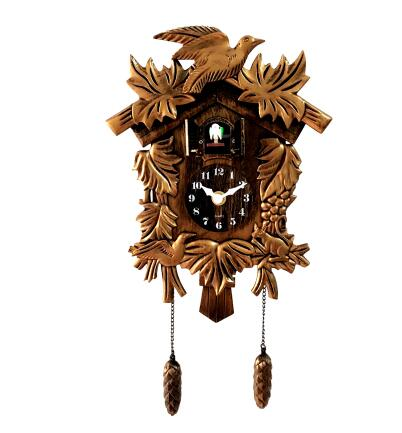 Cuckoo Clock Living Room Wall Clock Bird Cuckoo Alarm Clock Watch