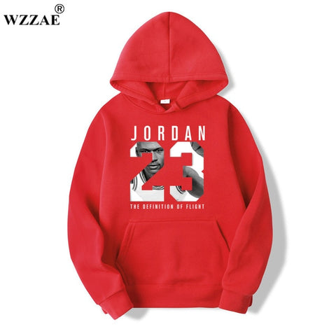 WZZAE Brand  New Fashion JORDA 23 Men Sportswear Hoodie