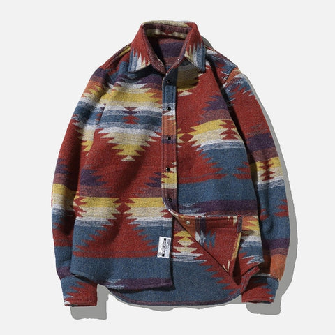 Flannel Woolen Men's Shirt