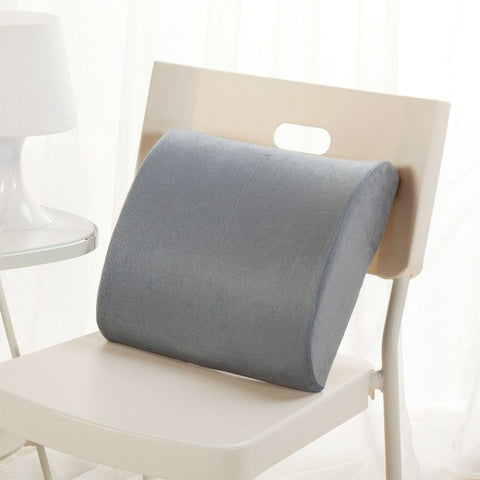 2 In 1 Bamboo Fiber Memory Foam Seat Cushion