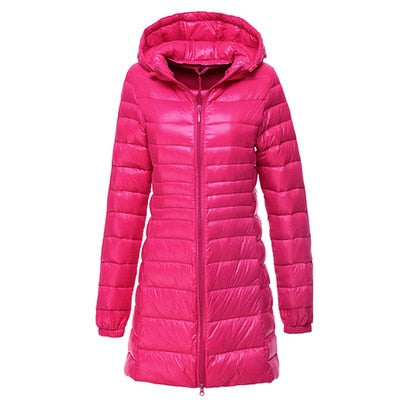 NewBang  Plus Long Down Jacket Women Winter Ultra Light