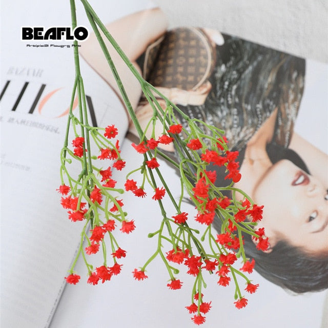 1pc Artificial Baby's Breath Flower Gypsophila Fake Silicone plant