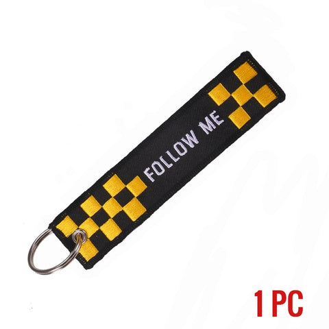 REMOVE BEFORE FLIGHT Novelty Keychain Launch Key Chain