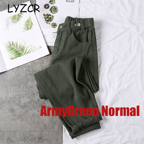 Image of LYZCR Loose Harem Women's Jeans