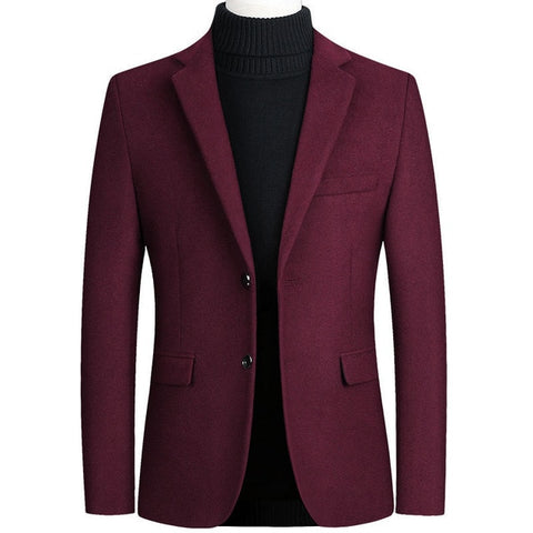 Image of Riinr Brand Mens Wool Blend Suit