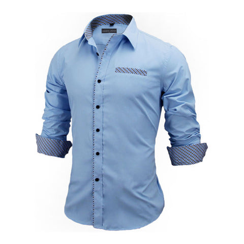 Image of VISADA JAUNA, Long Sleeve Fashion Shirt