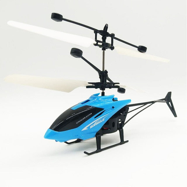 Mini rc drone helicopter with led light and remote control