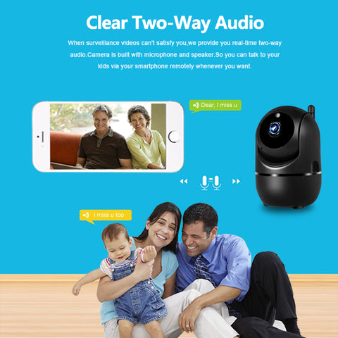 1080P Wireless IP Camera Cloud Wifi Camera Smart Auto Tracking Human Home Security Surveillance CCTV Network