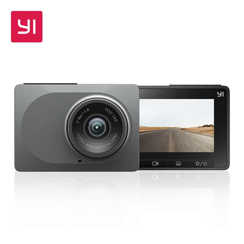 "YI Dash Camera 2.7"" Screen Full HD 1080P 60fps 165 degree Wide-Angle Car DVR Vehicle Dash Cam with G-Sensor Night Vision ADAS"