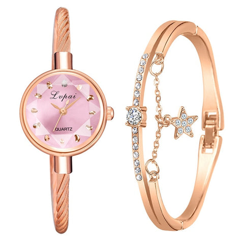Lvpai Brand New Ladies Watch Small Rose Gold
