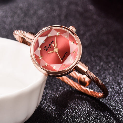 Image of Lvpai Brand New Ladies Watch Small Rose Gold
