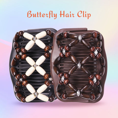 Image of Flexible Butterfly Hair Clip (Stronger Version)--Random Style