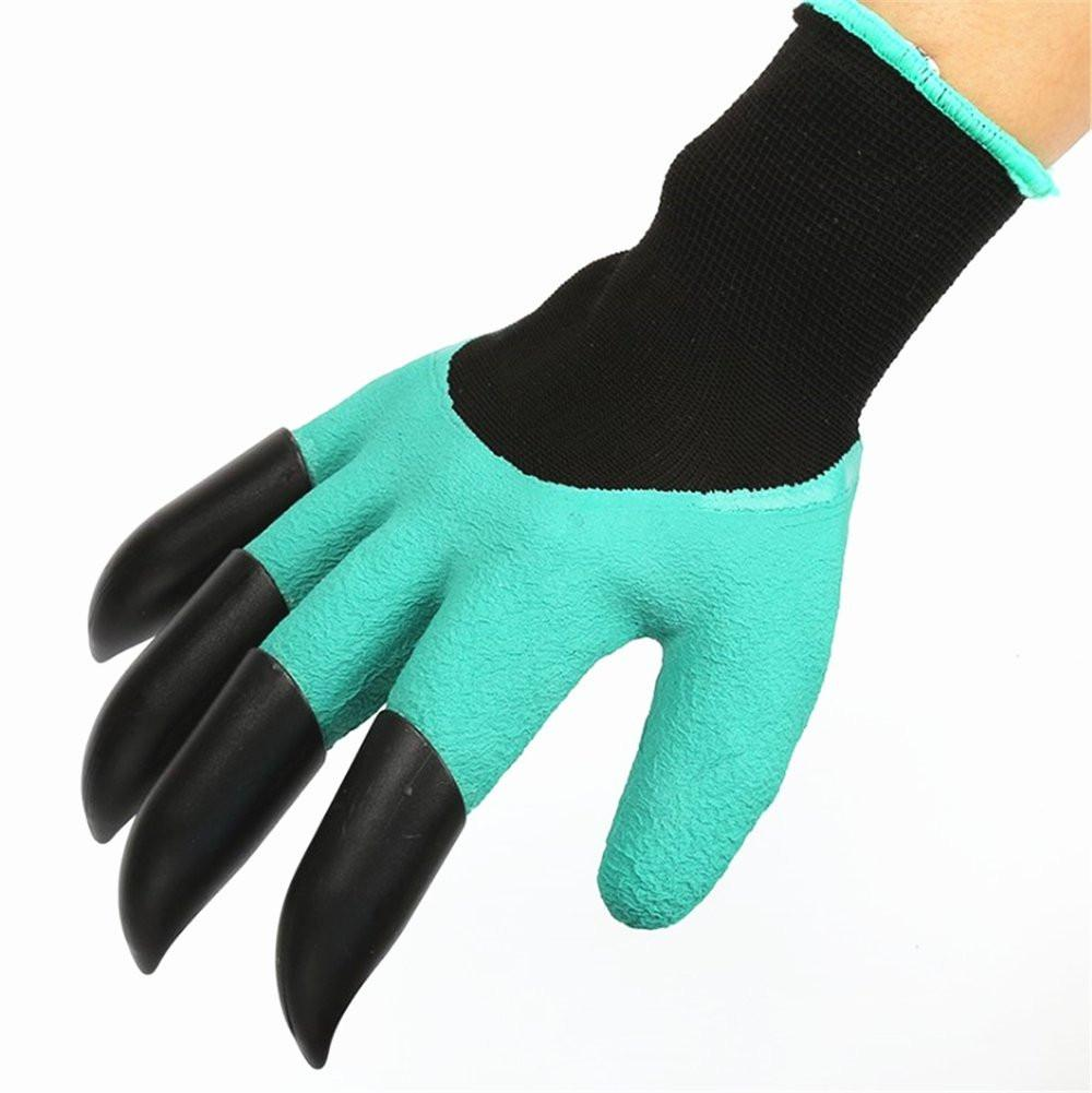 Garden Gloves For Digging & PlantingGardening Gloves, Runfish Women Garden Digging Genie Gloves with Claws Protective Gear Gardening Tool Best Gift for Gardeners (1 pair)