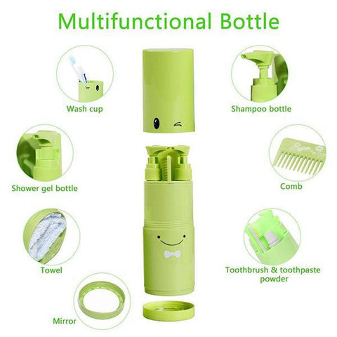 Travel Package, Portable Toothbrush Organizer